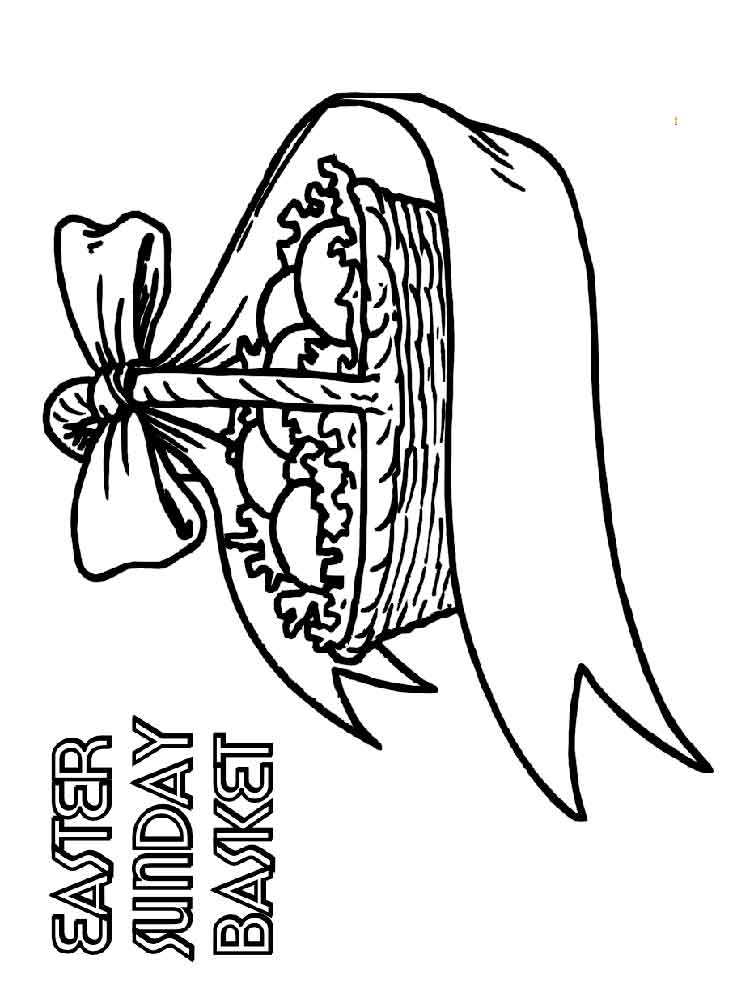 easter bunny basket coloring page easter basket coloring pages part 6 easter bunny page basket coloring