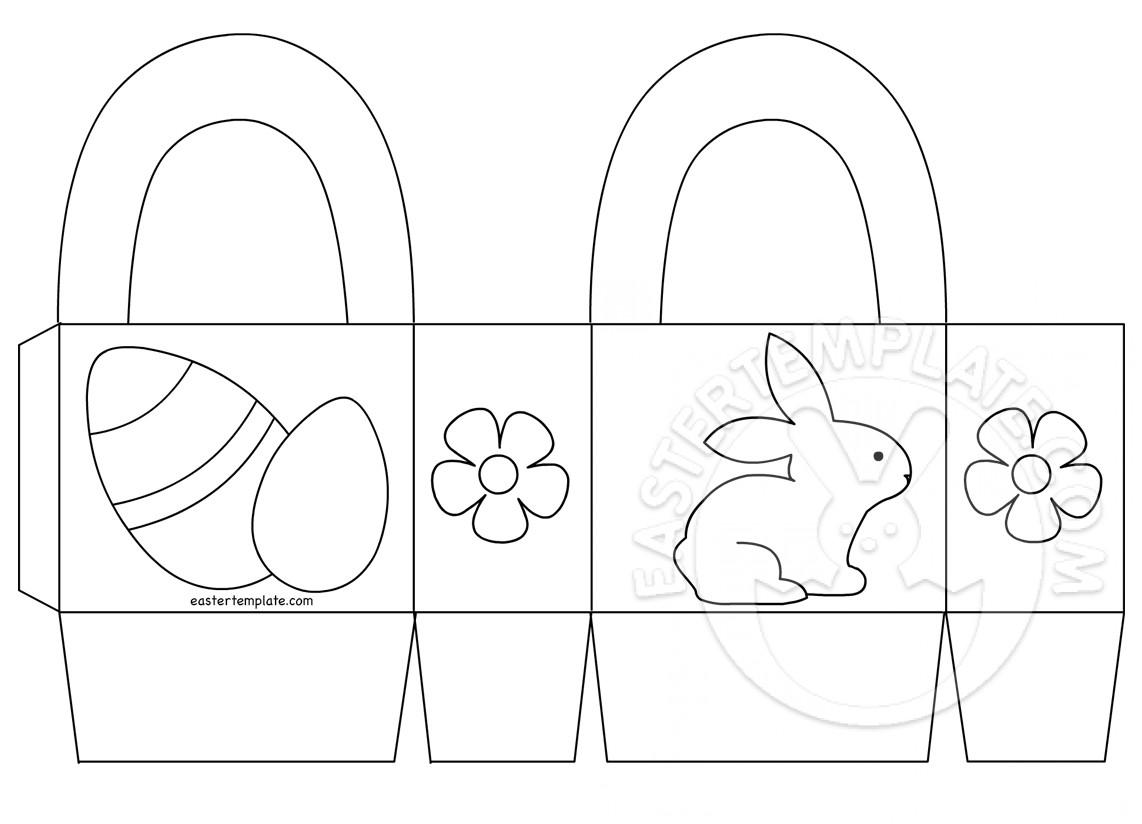 easter bunny basket coloring page empty easter basket coloring page part 2 basket page bunny coloring easter