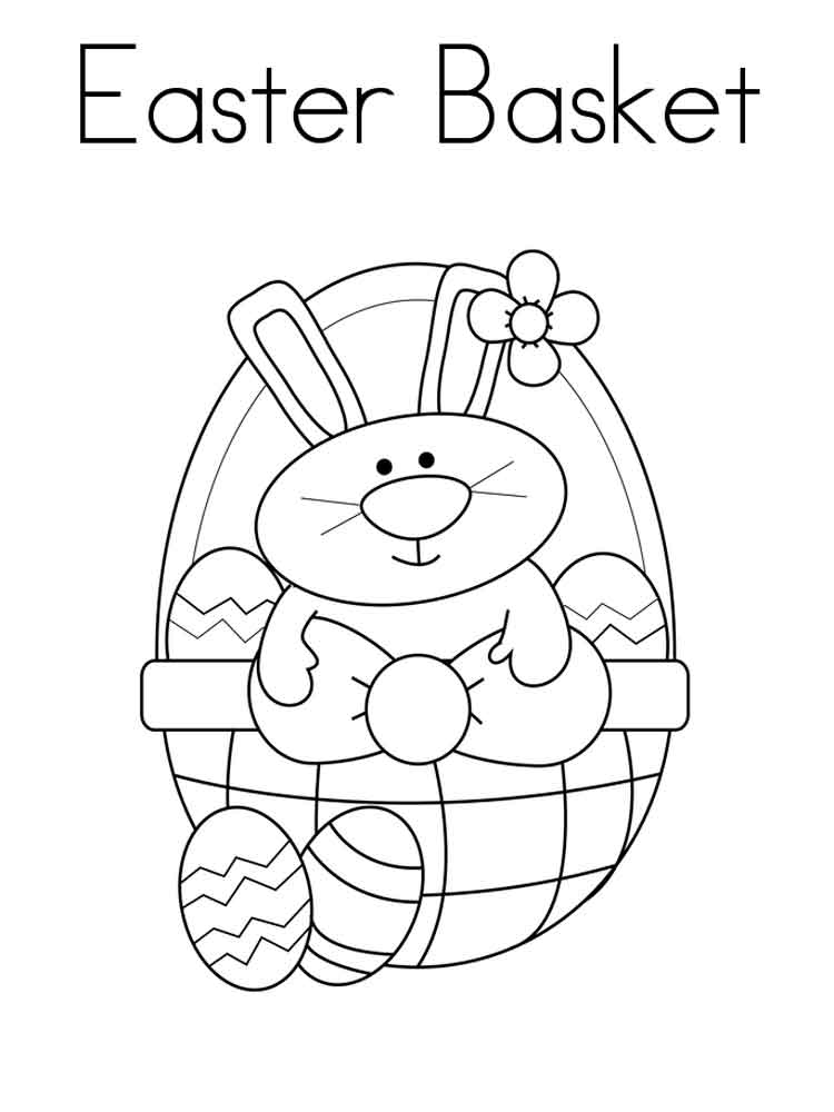easter bunny basket coloring page empty easter basket coloring page part 2 page coloring easter bunny basket