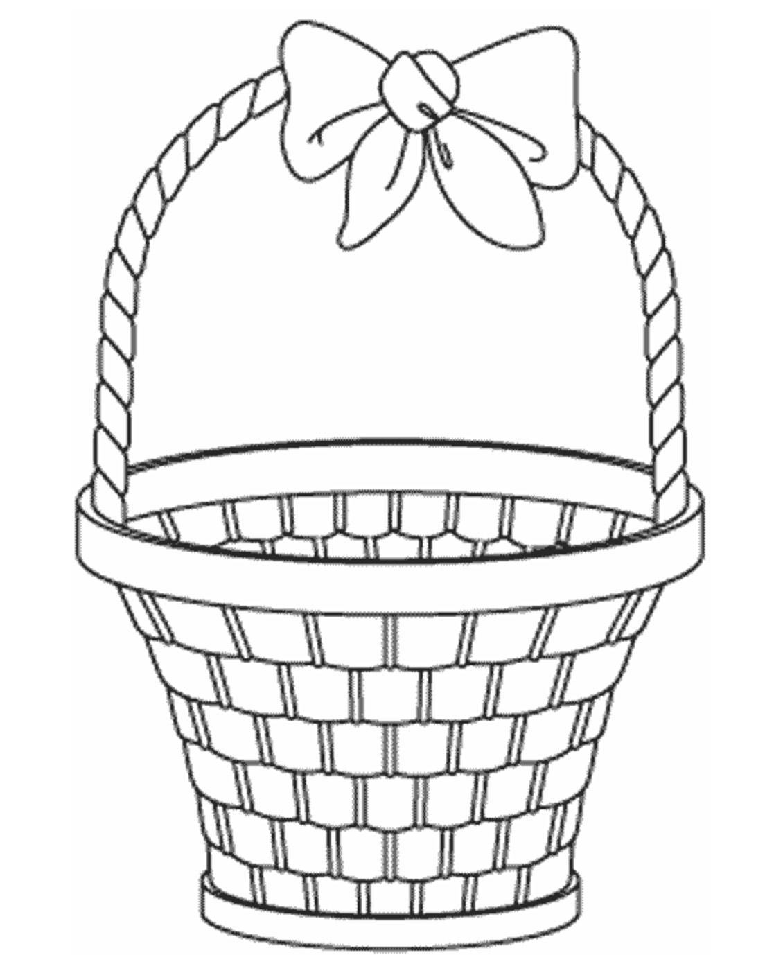 easter bunny basket coloring page free easter basket coloring pages printable bunny coloring page basket easter