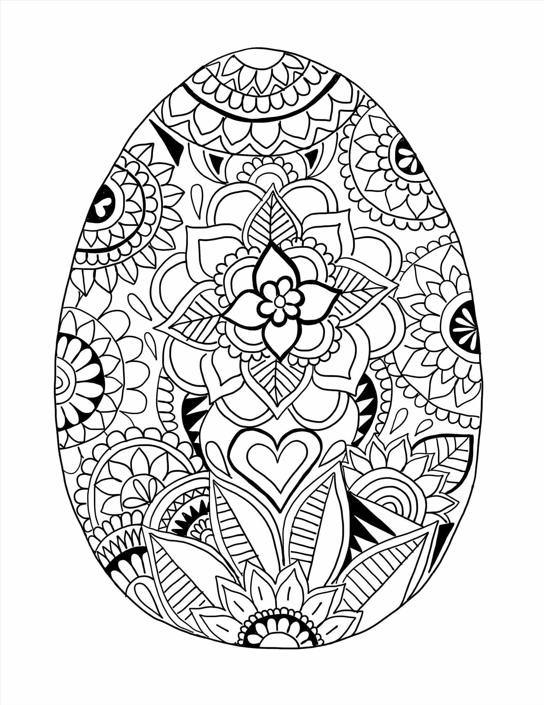 easter coloring detailed easter egg coloring pages at getcoloringscom coloring easter