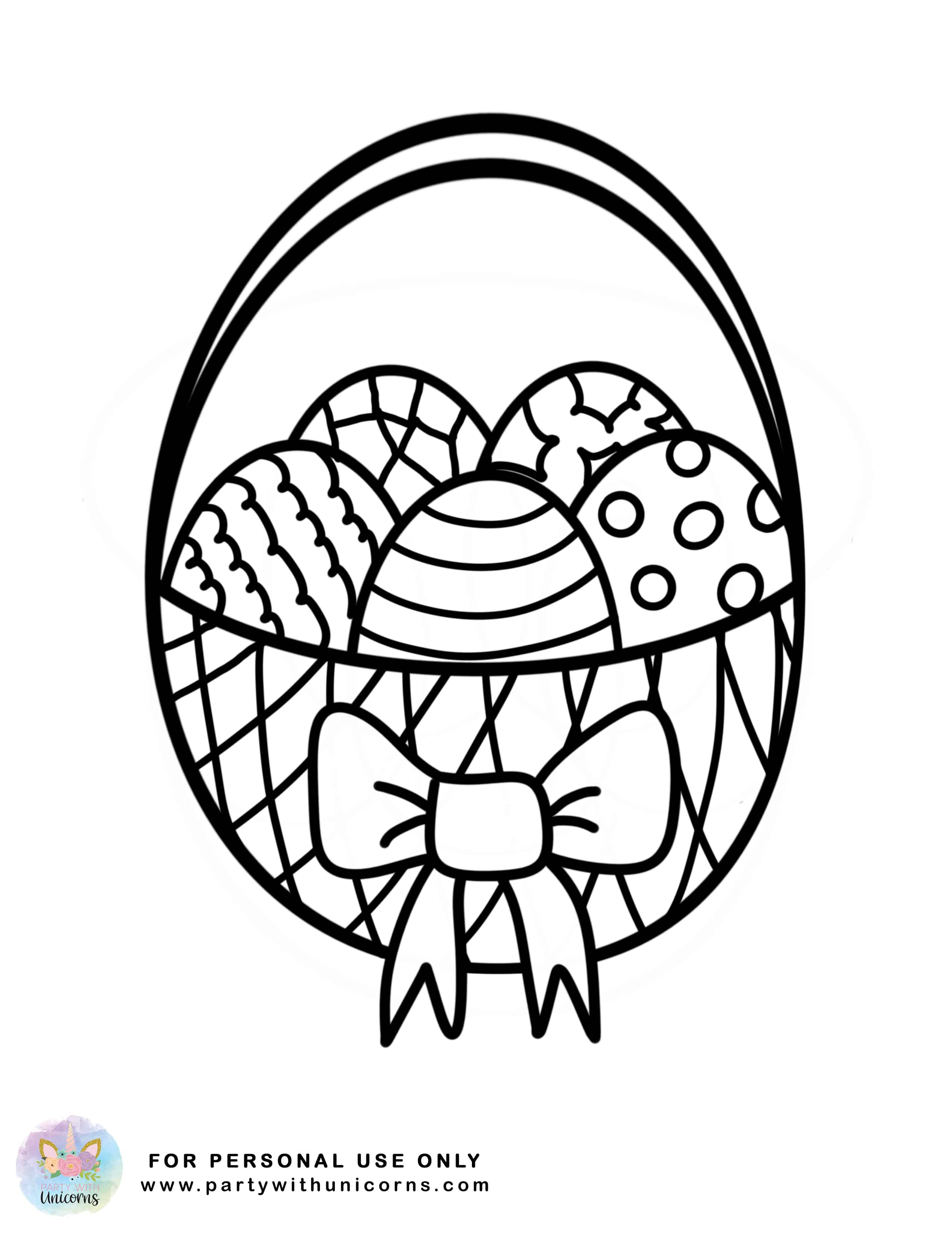 easter coloring easter coloring sheets free download party with unicorns easter coloring 1 1
