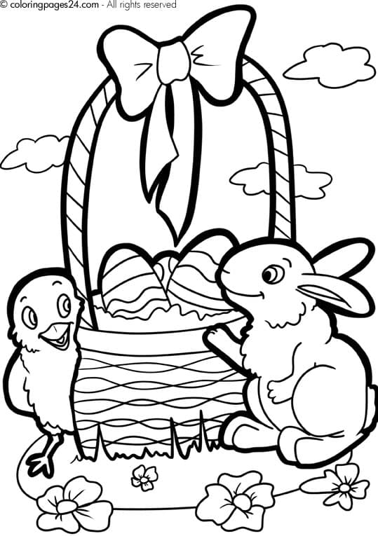 easter printable coloring pages the holiday site easter clip art and coloring pages pages easter coloring printable