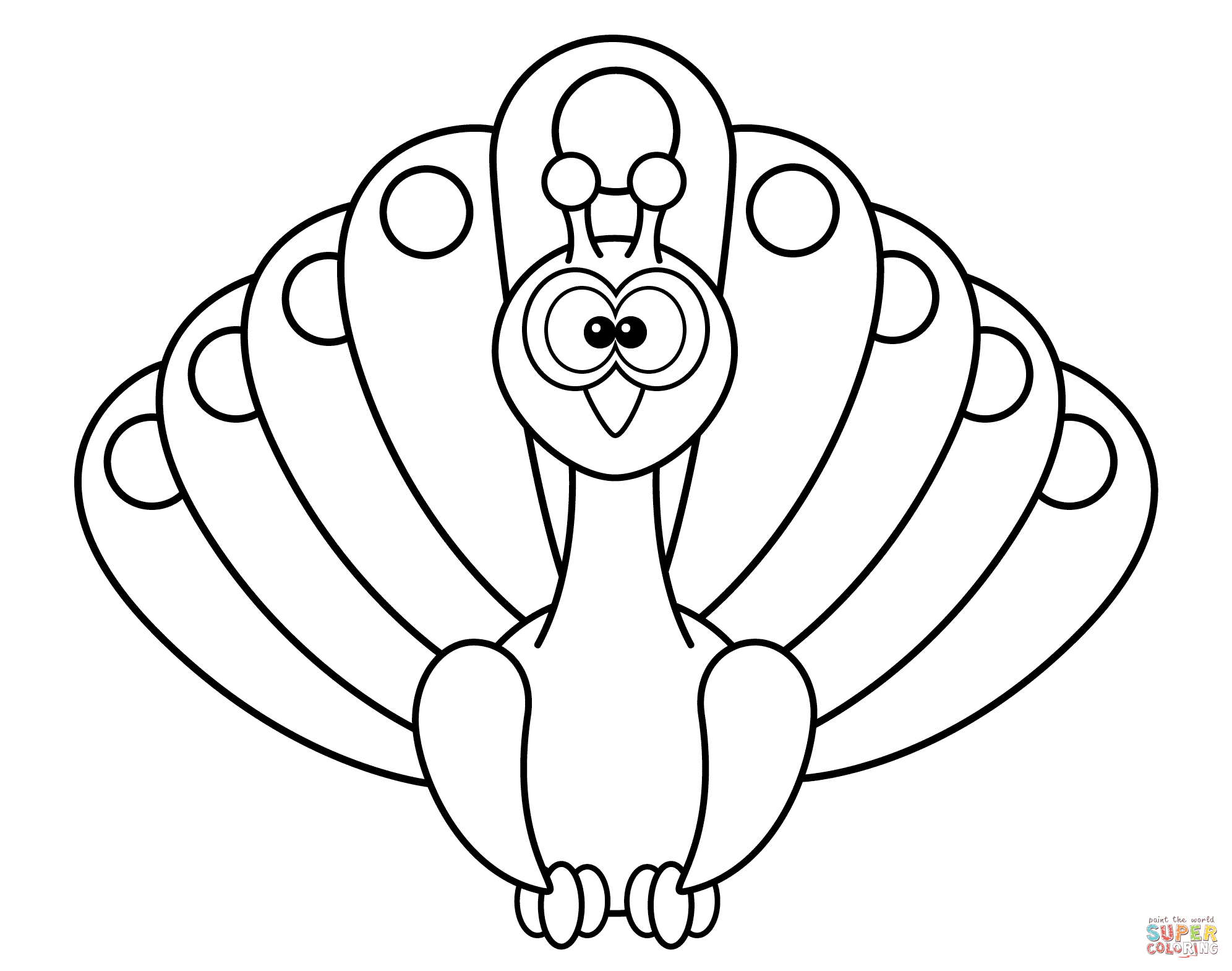 easy cute peacock coloring pages peacocks for children peacocks kids coloring pages cute coloring pages peacock easy