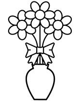 easy flower coloring pages 60 best simple colouring pages images on pinterest coloring easy flower pages