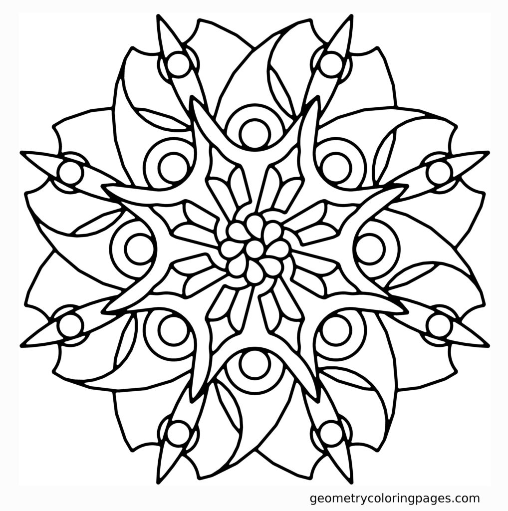 easy flower coloring pages best free easy flower mandala designs coloring pages easy flower coloring pages
