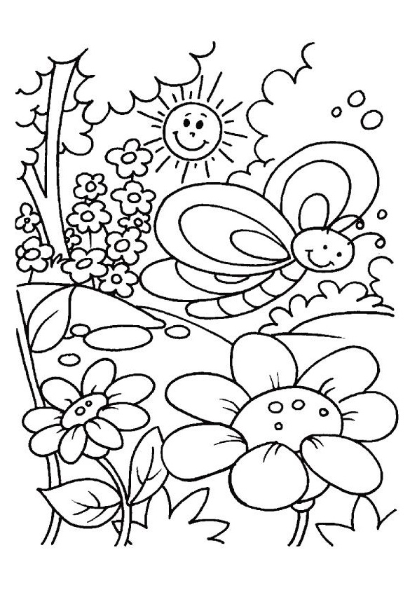 easy flower coloring pages flowers coloring pages sheets topcoloringpagesnet easy flower coloring pages