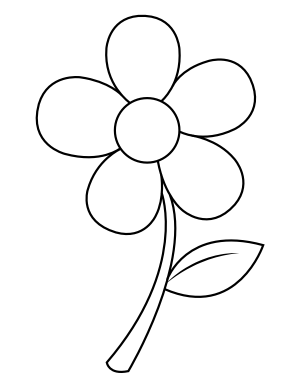 easy flower coloring pages large print adult coloring book 2 big beautiful easy coloring pages flower