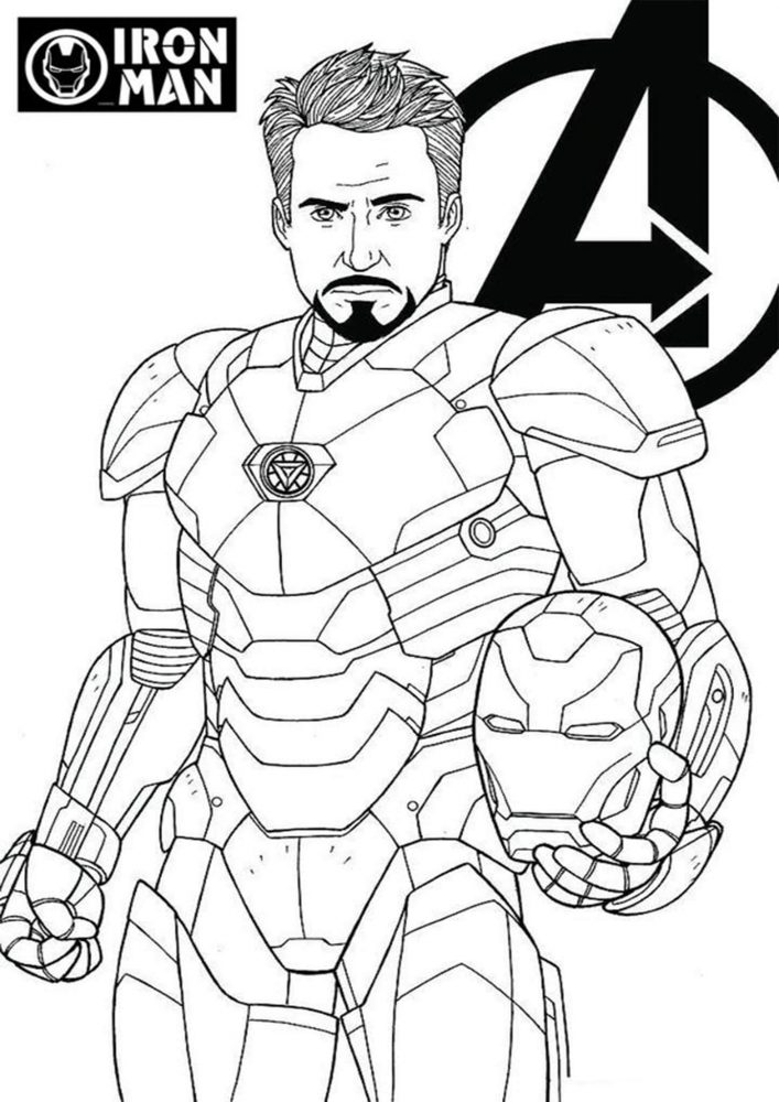 easy iron man coloring pages free printable iron man coloring pages for kids cool2bkids coloring easy iron pages man
