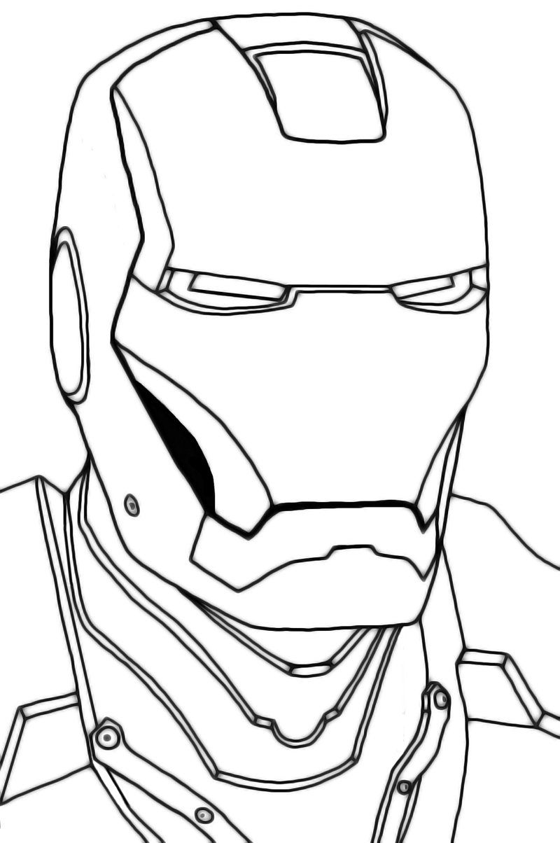 easy iron man coloring pages iron man to color for kids iron man kids coloring pages easy iron pages coloring man