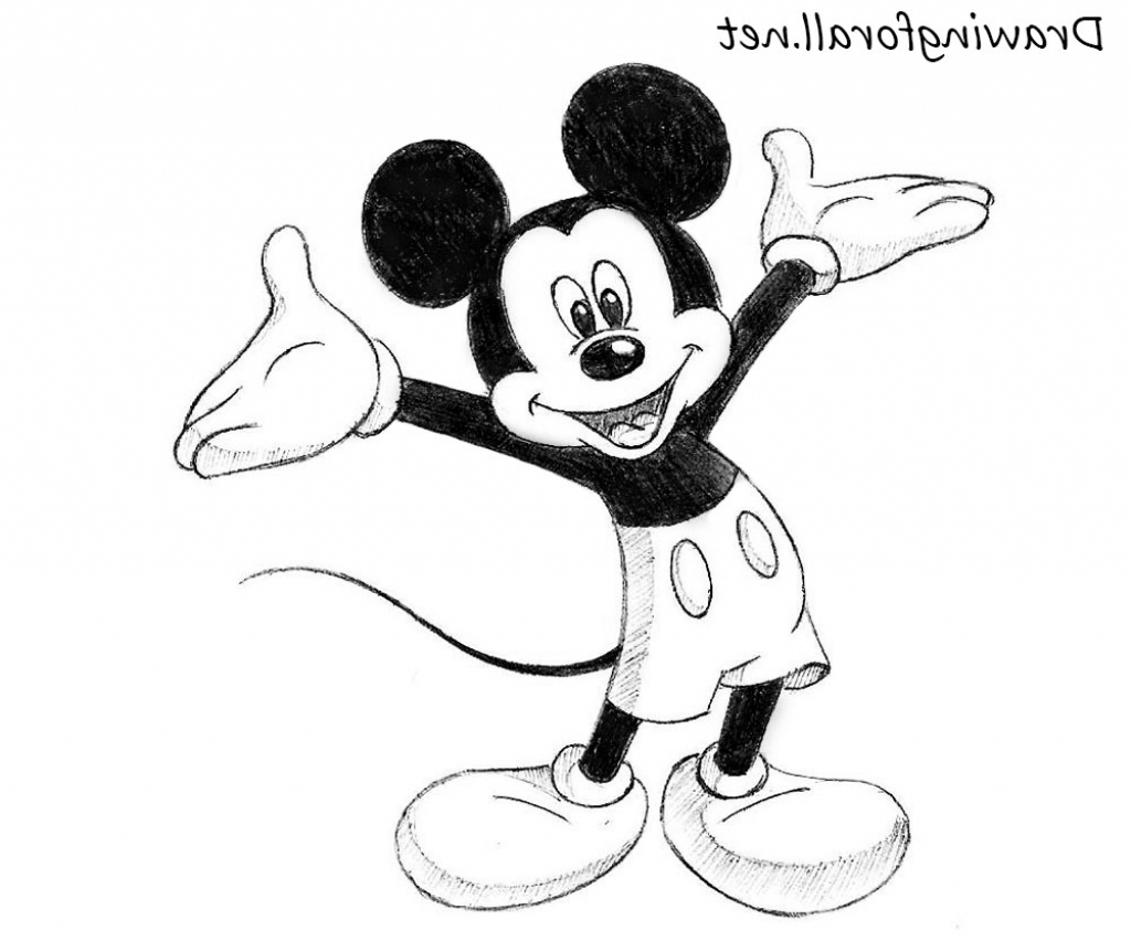 easy mickey mouse drawing easy mickey mouse drawing easy mickey drawing mouse