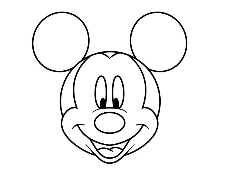 easy mickey mouse drawing easy scenery drawing at getdrawings free download easy drawing mickey mouse