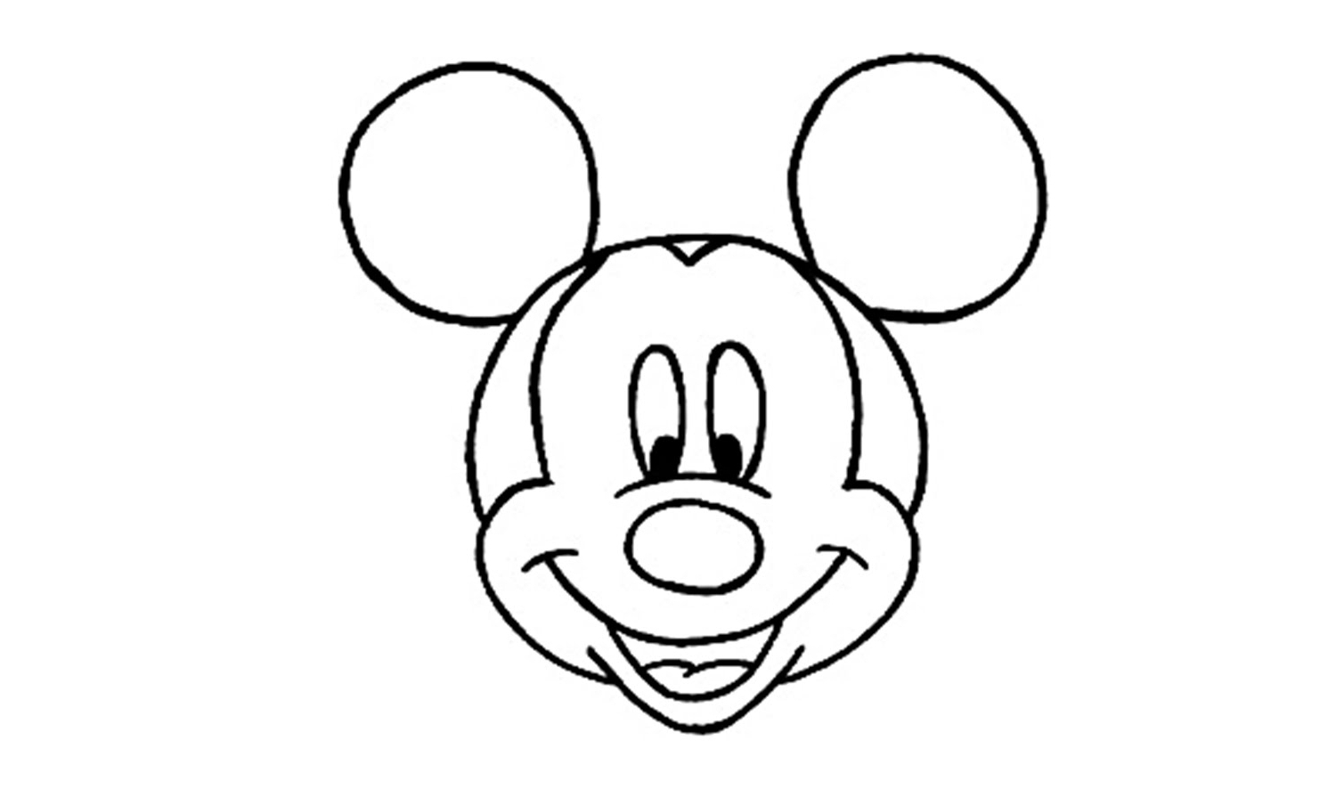 easy mickey mouse drawing mickey mouse zeichnen ausmalbilder und vorlagen mickey easy mouse drawing