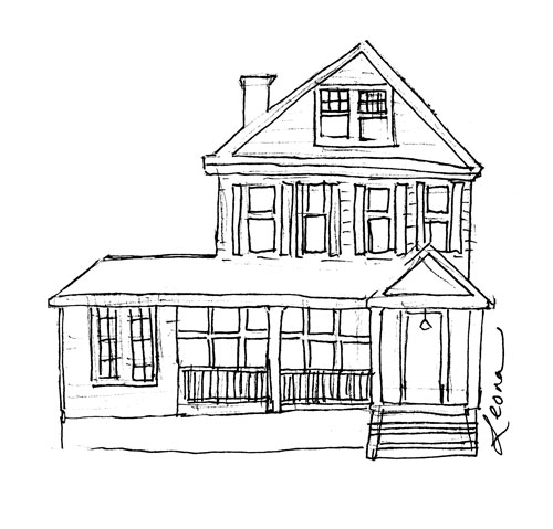 easy to draw mansion house for drawing at getdrawings free download to mansion easy draw