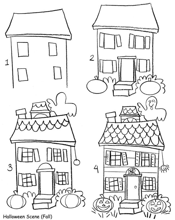 easy to draw mansion learn how to draw an easy house scenery scenes step by to easy mansion draw