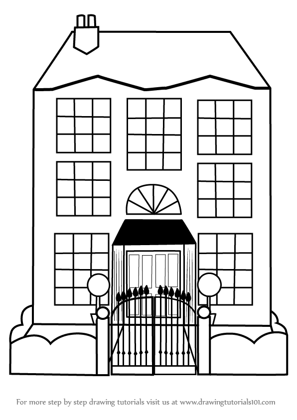 easy to draw mansion mansion clipart easy draw mansion easy draw transparent mansion draw to easy