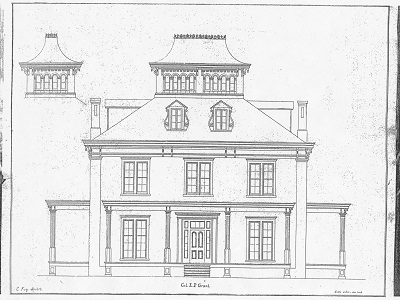 easy to draw mansion mathewunicornjoseph house drawings draw to easy mansion