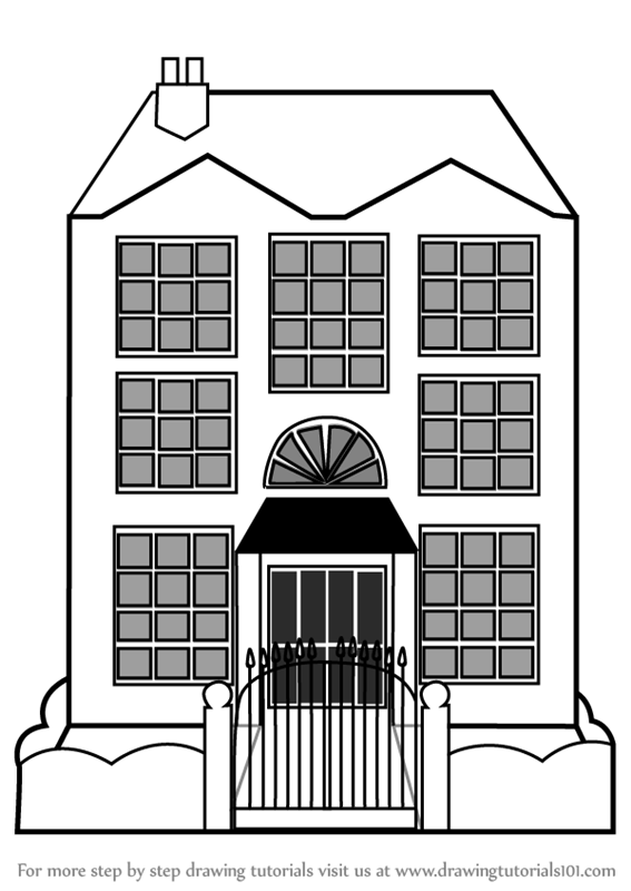 easy to draw mansion two more mansion drawings done by a homes of the rich to easy draw mansion