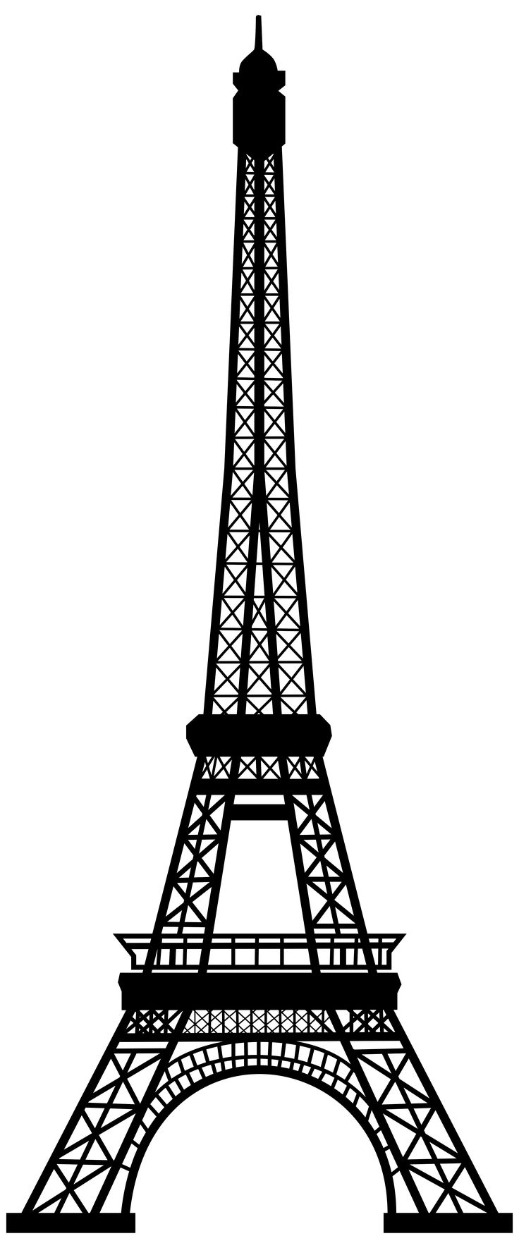 eiffel tower printable cn tower drawing at getdrawings free download eiffel printable tower