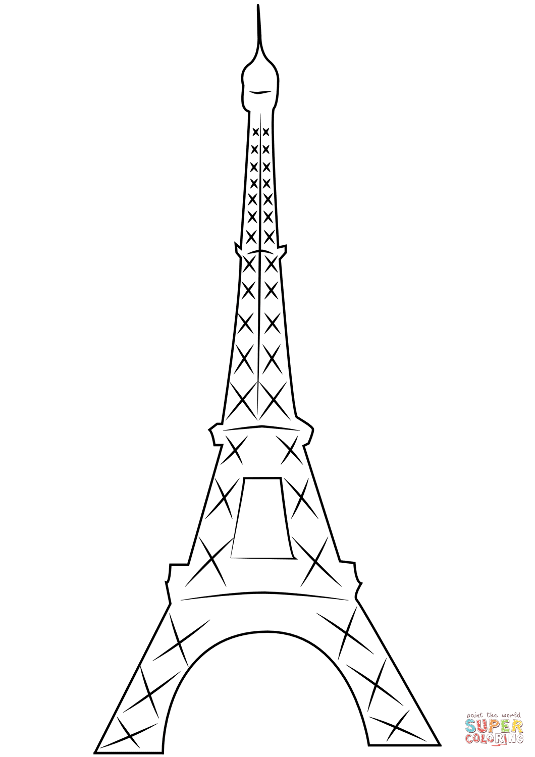 eiffel tower printable eiffel tower printable printable eiffel tower