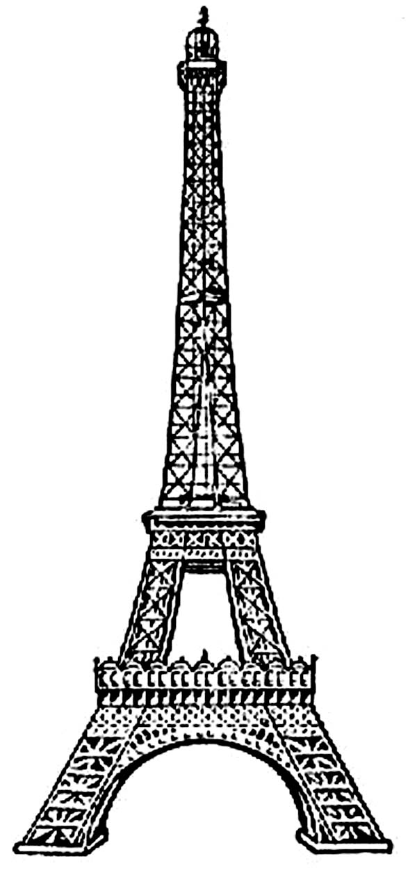 Eiffel tower printable