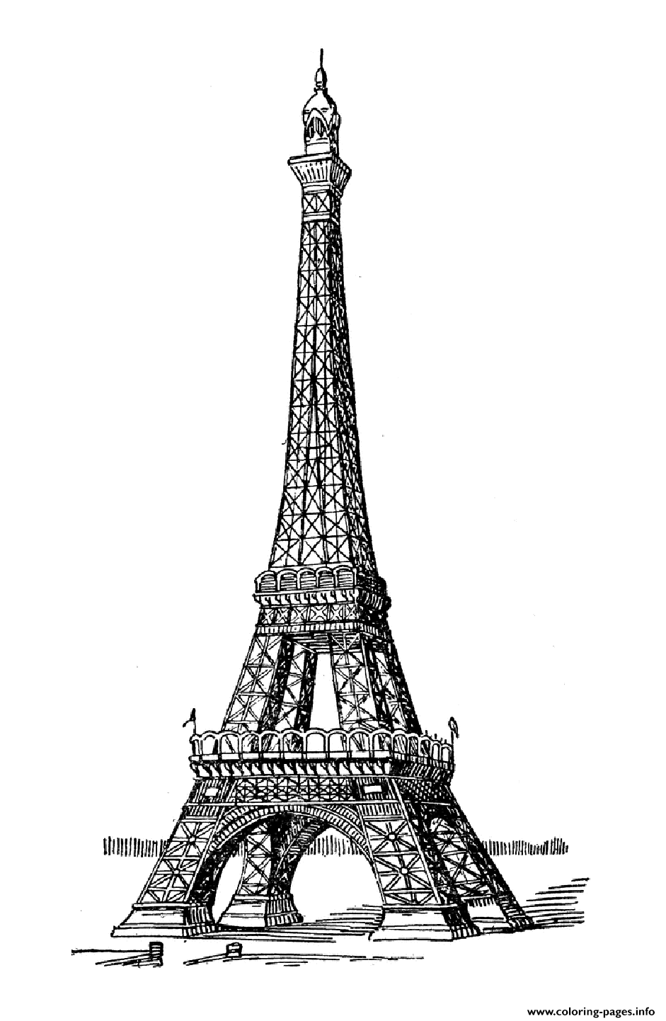 eiffel tower printable paris eiffel tower coloring pages download and print for free eiffel tower printable