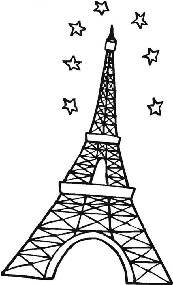 eiffel tower printable printable eiffel tower coloring pages for kids cool2bkids printable eiffel tower