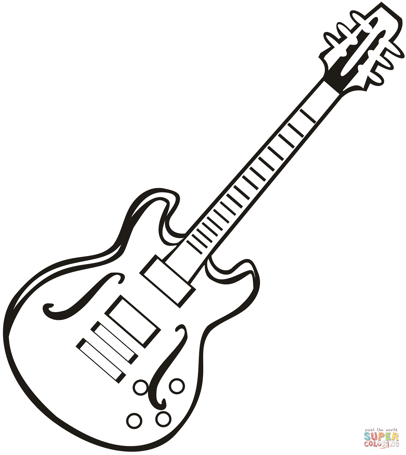 electric guitar coloring page electric guitar coloring page free printable coloring pages electric guitar page coloring