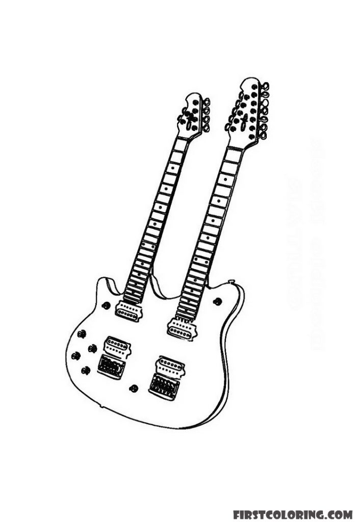 electric guitar coloring page electric guitar coloring pages first coloring for our electric coloring page guitar