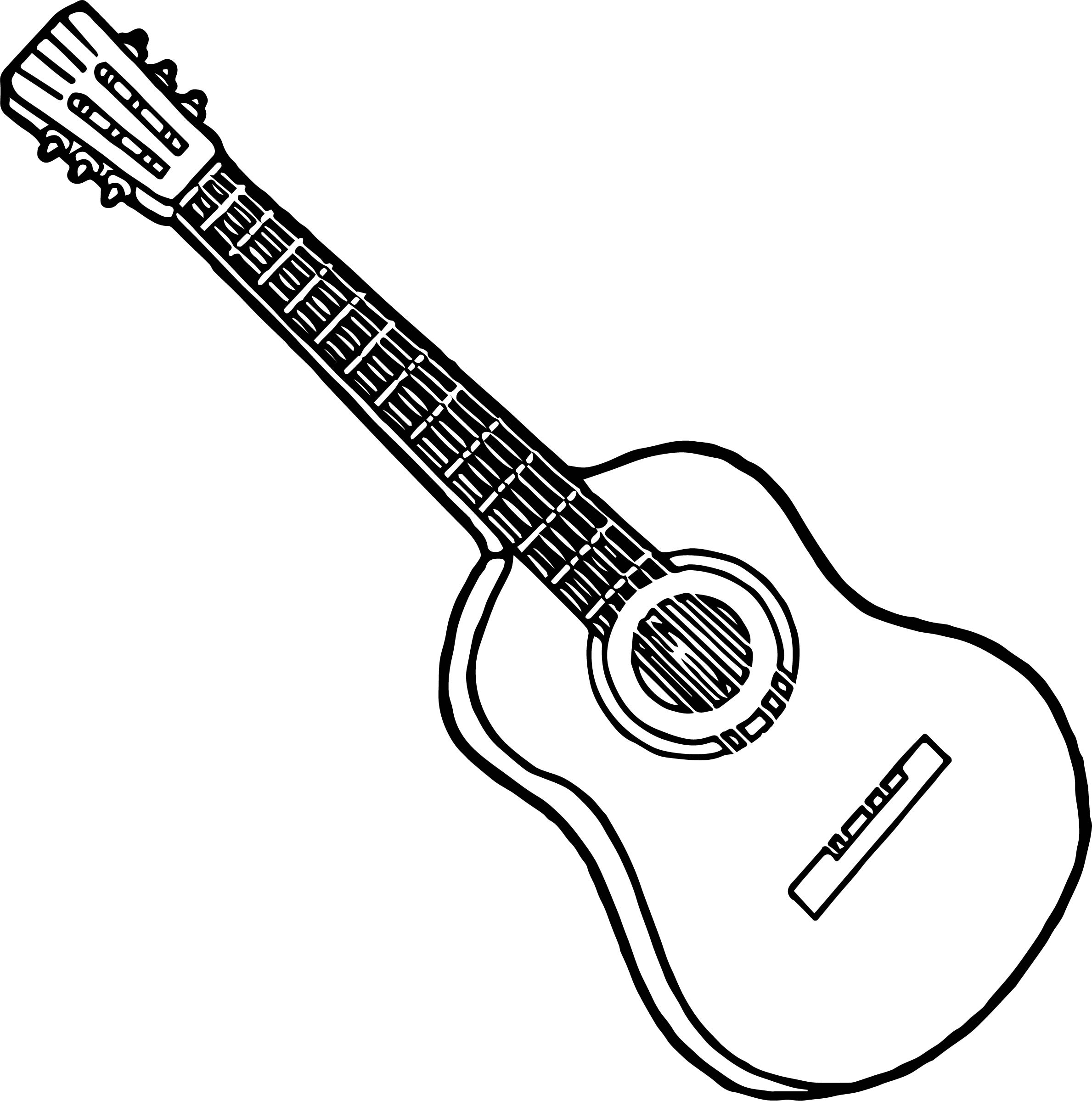 electric guitar coloring page electric guitar line drawing at getdrawings free download coloring page electric guitar