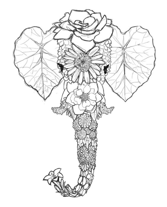 elephant color by number elephant numbers coloring pages surfnetkids elephant color number by