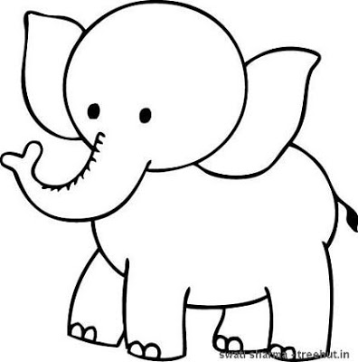 elephant coloring picture baby elephant coloring pages animal coloring picture elephant
