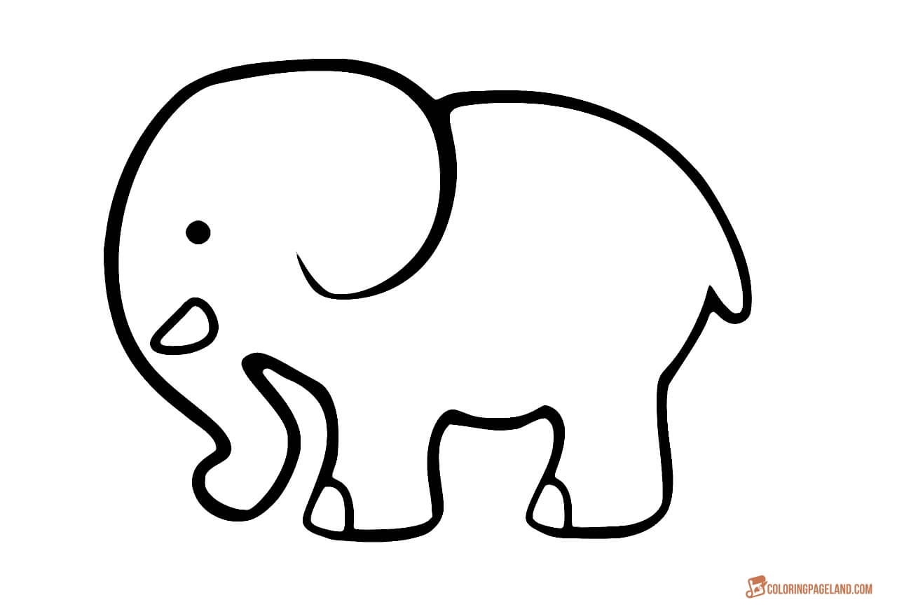 elephant coloring picture coloring pages of elephants download and print for free coloring picture elephant