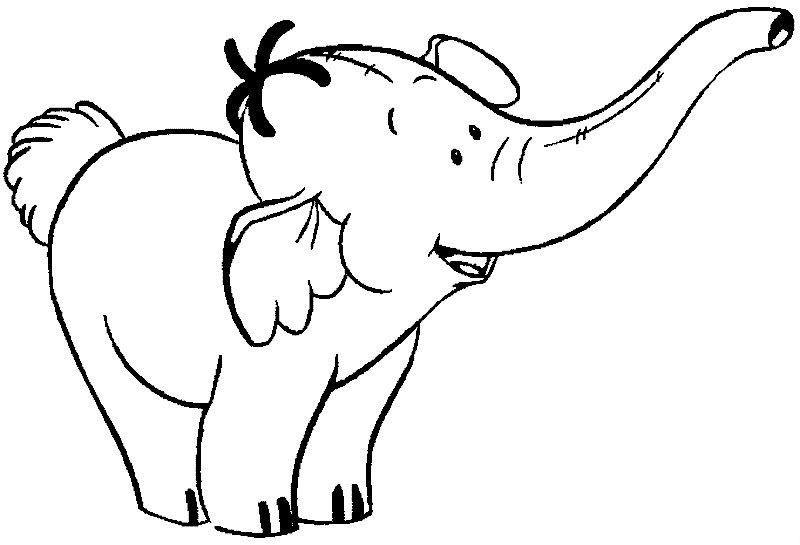 elephant coloring picture free animals elephant printable colouring for preschool coloring picture elephant