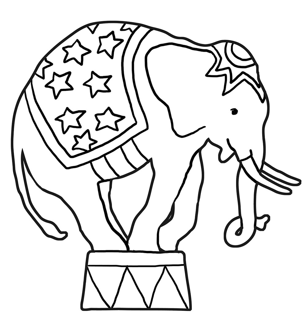 elephant coloring picture funny elephant coloring pages coloring picture elephant