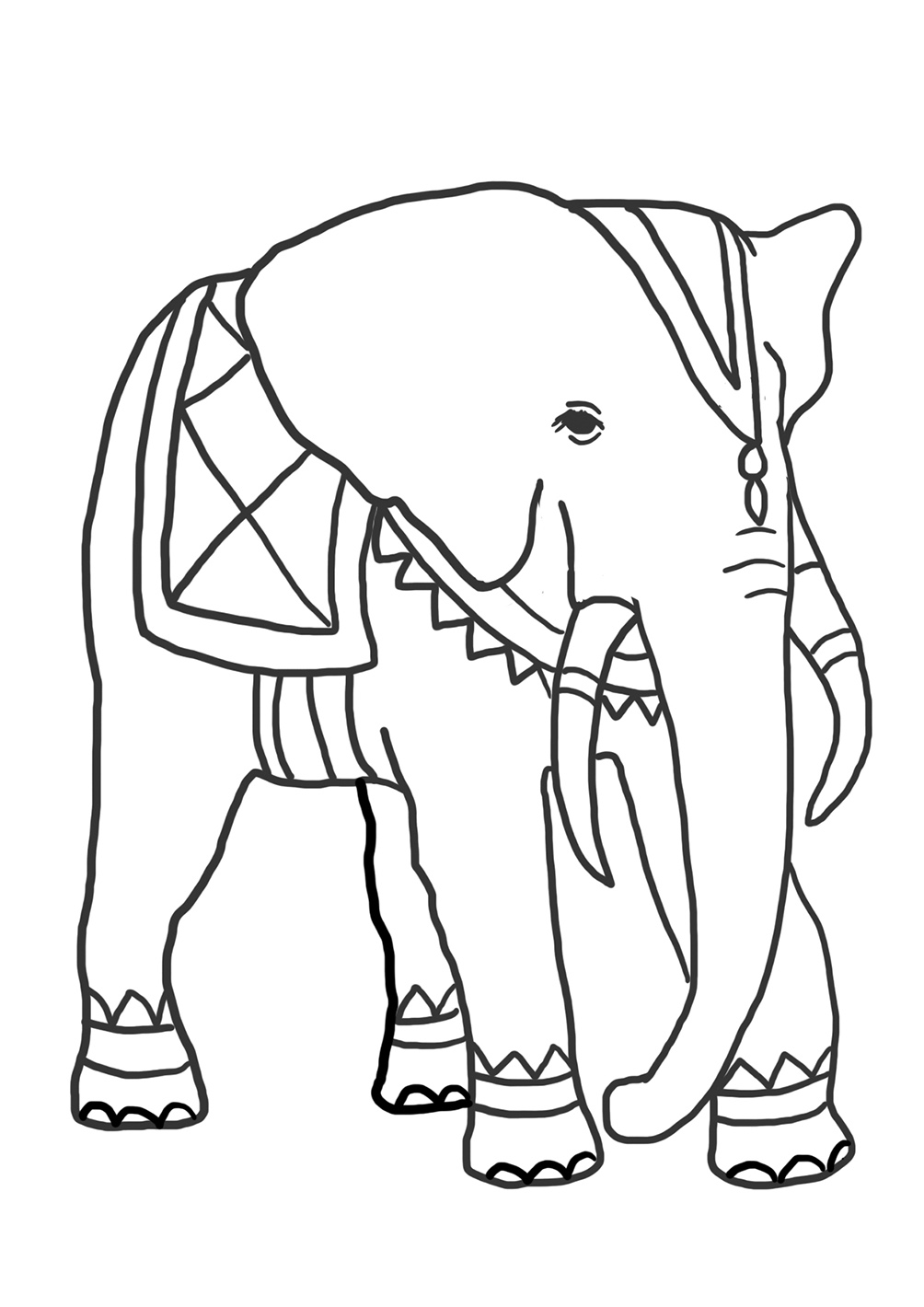 elephant coloring picture funny elephant coloring pages picture elephant coloring