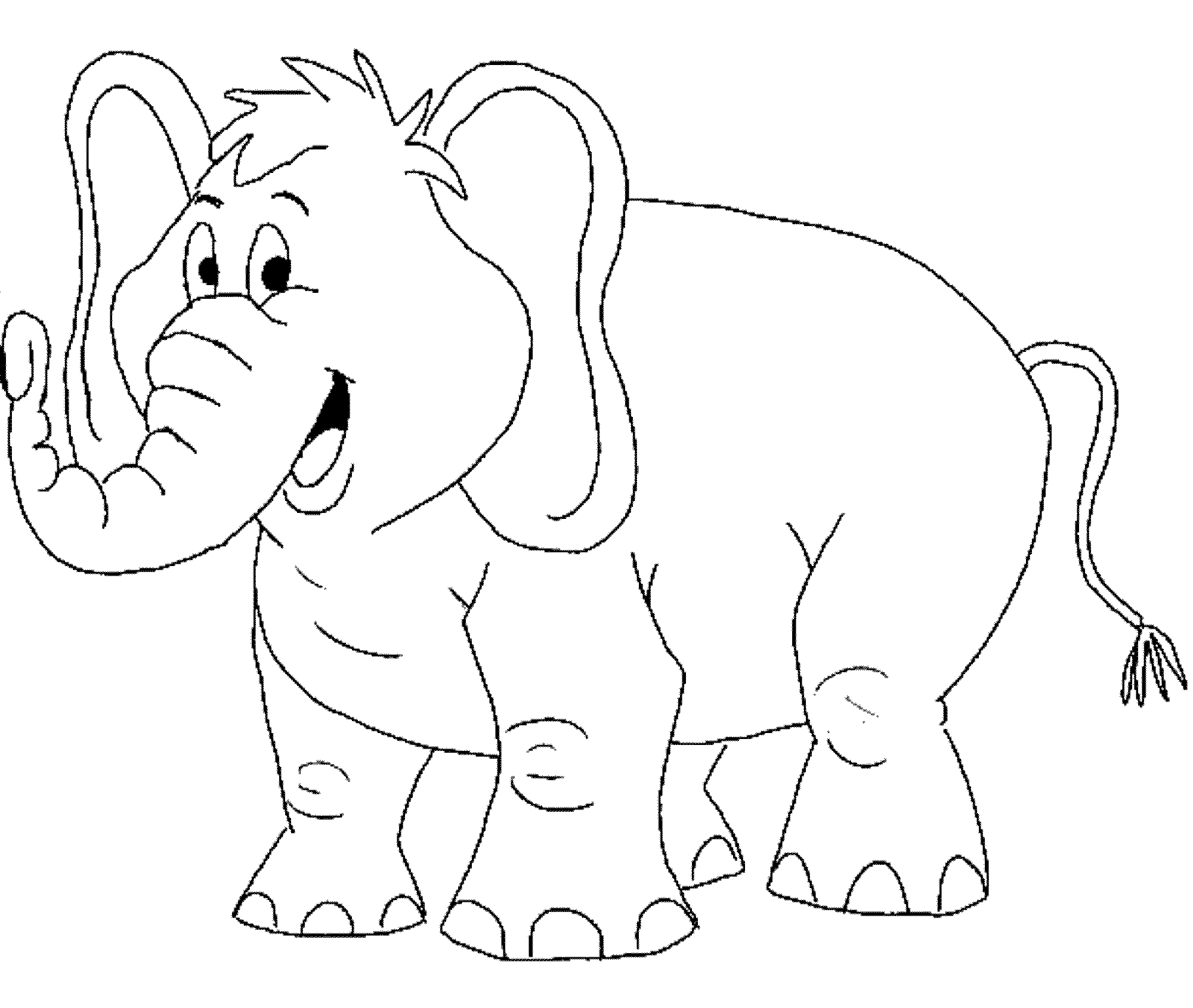 elephant coloring picture print download teaching kids through elephant coloring picture elephant coloring 1 1