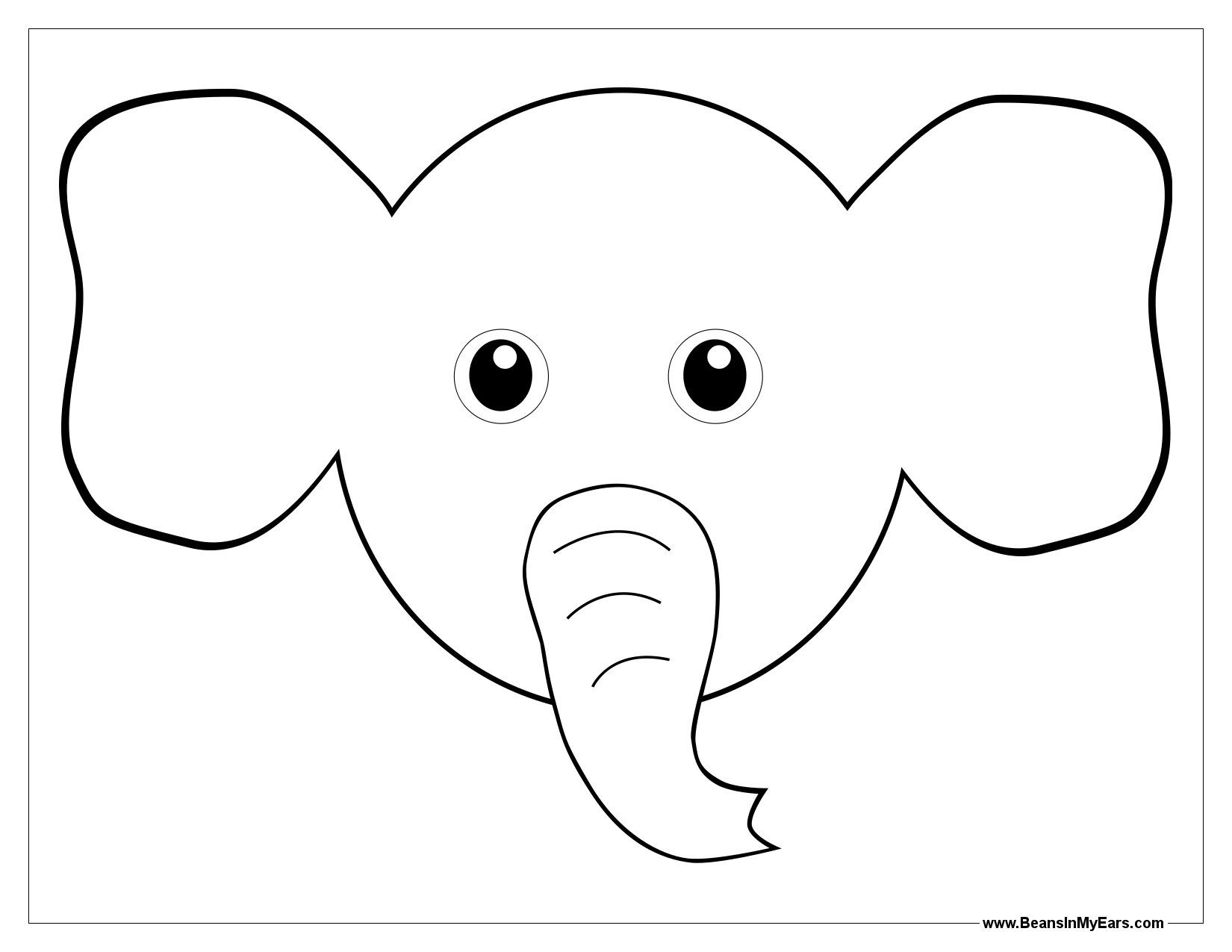 elephant images for colouring ears coloring pages coloring home elephant for images colouring