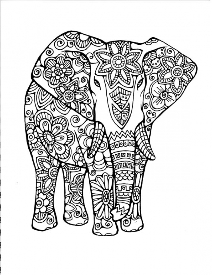 elephant images for colouring get this hard elephant coloring pages for adults 13579 colouring images elephant for