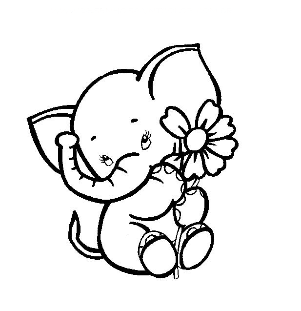 elephant outline coloring page elephant outline coloring page page coloring elephant outline