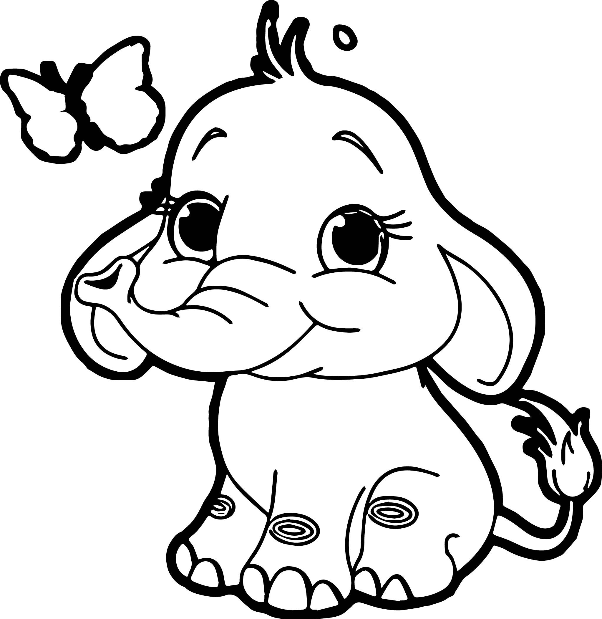 elephant outline coloring page elephant template elephant coloring page elephant outline page coloring outline elephant