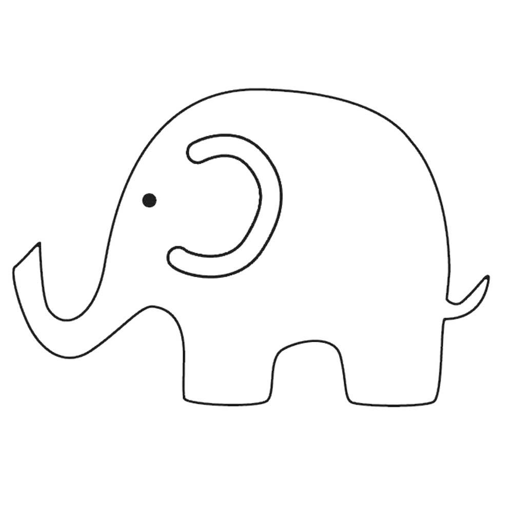 elephant outline coloring page mama baby elephant coloring page tracing twisty noodle elephant coloring page outline
