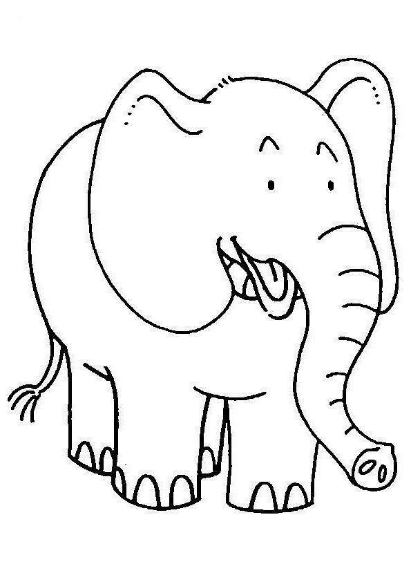 elephant picture for coloring baby elephant coloring pages animal elephant coloring picture for