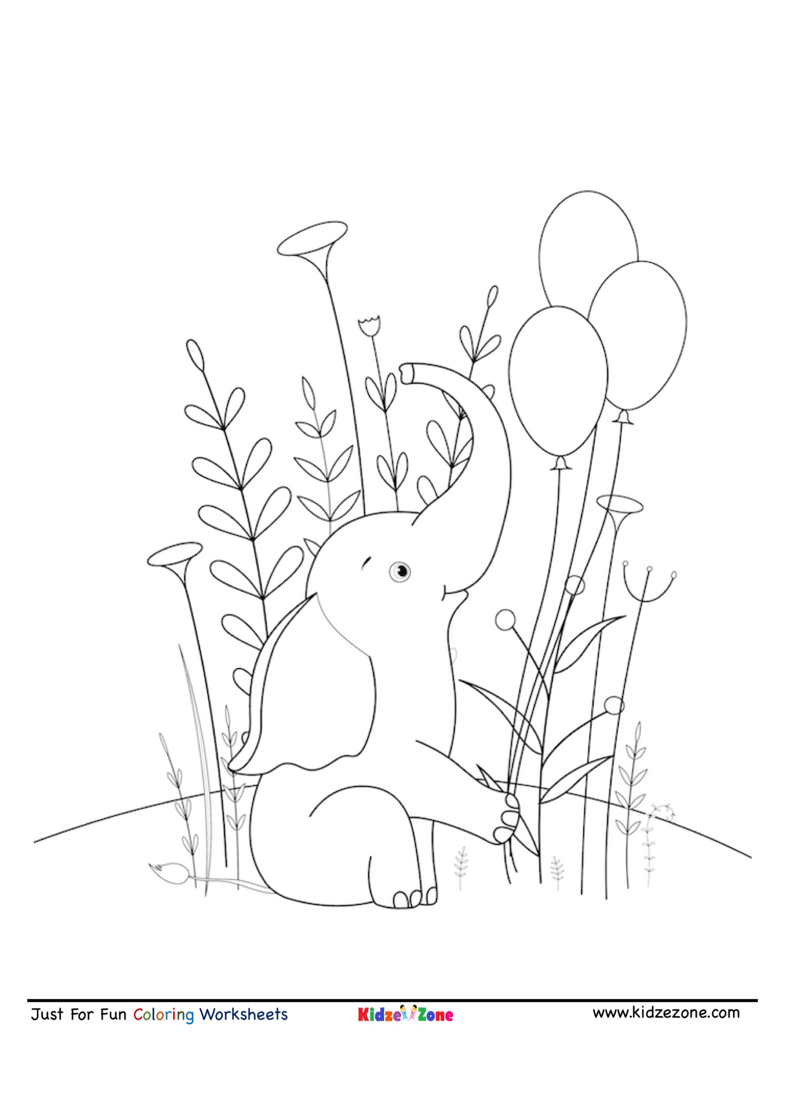 elephant picture for coloring elephant coloring page tracing twisty noodle elephant for coloring picture