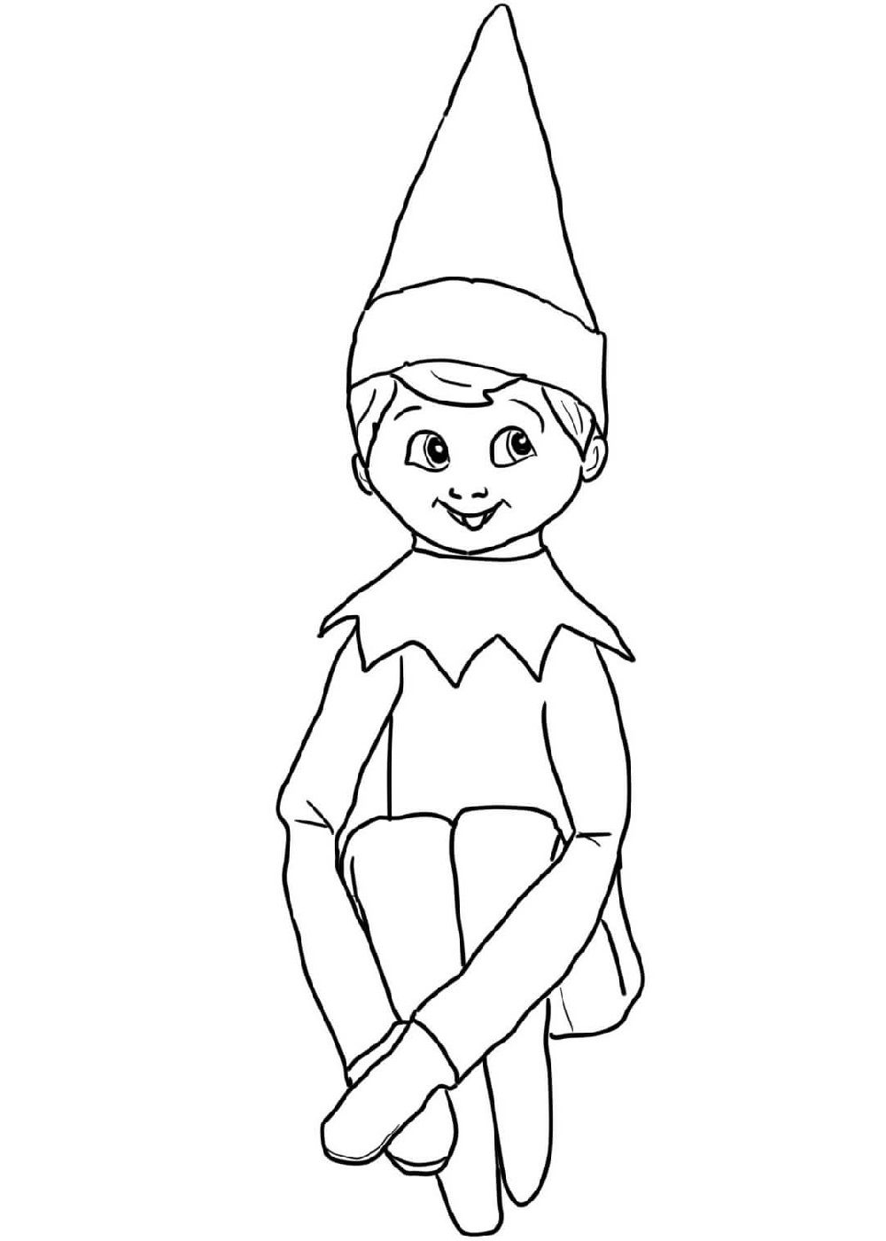elf on the shelf coloring book elf on the shelf coloring pages 101 coloring book the on coloring shelf elf