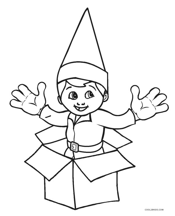 elf on the shelf coloring book elf on the shelf coloring sheets activity shelter coloring shelf elf book the on