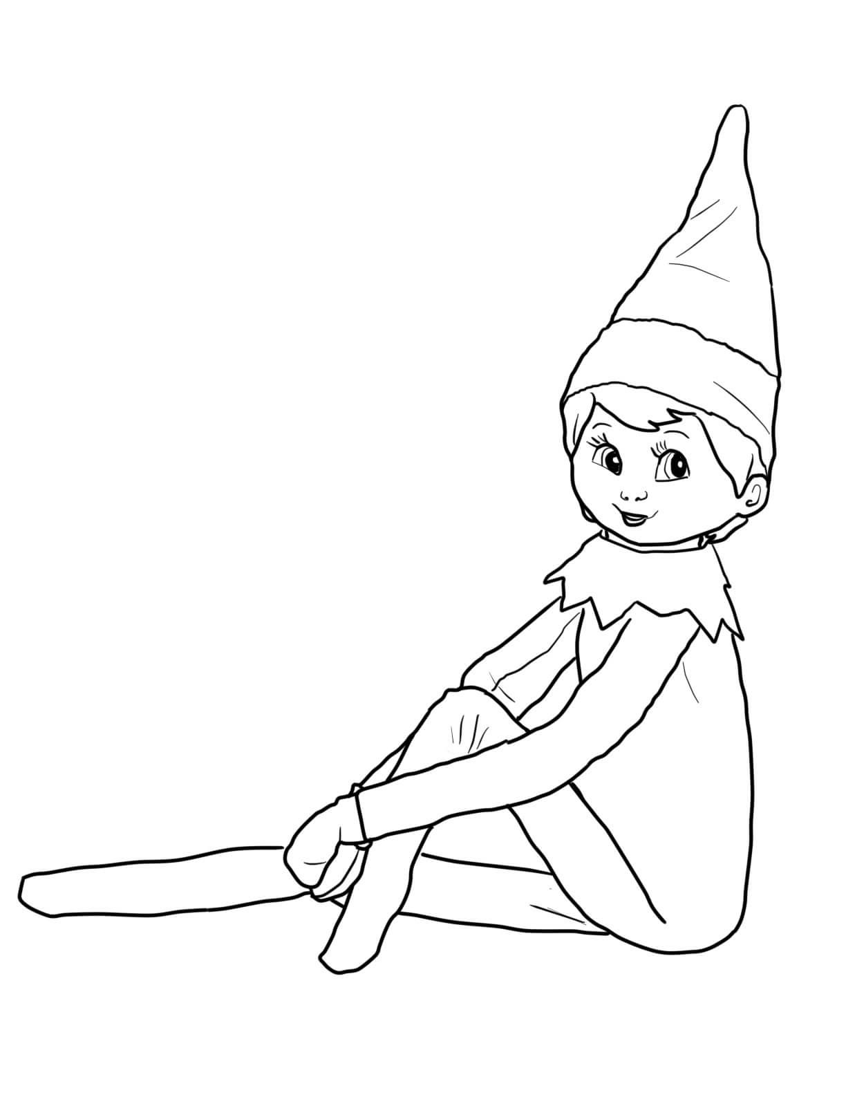elf on the shelf pictures to color 30 free printable elf on the shelf coloring pages shelf to on color elf pictures the