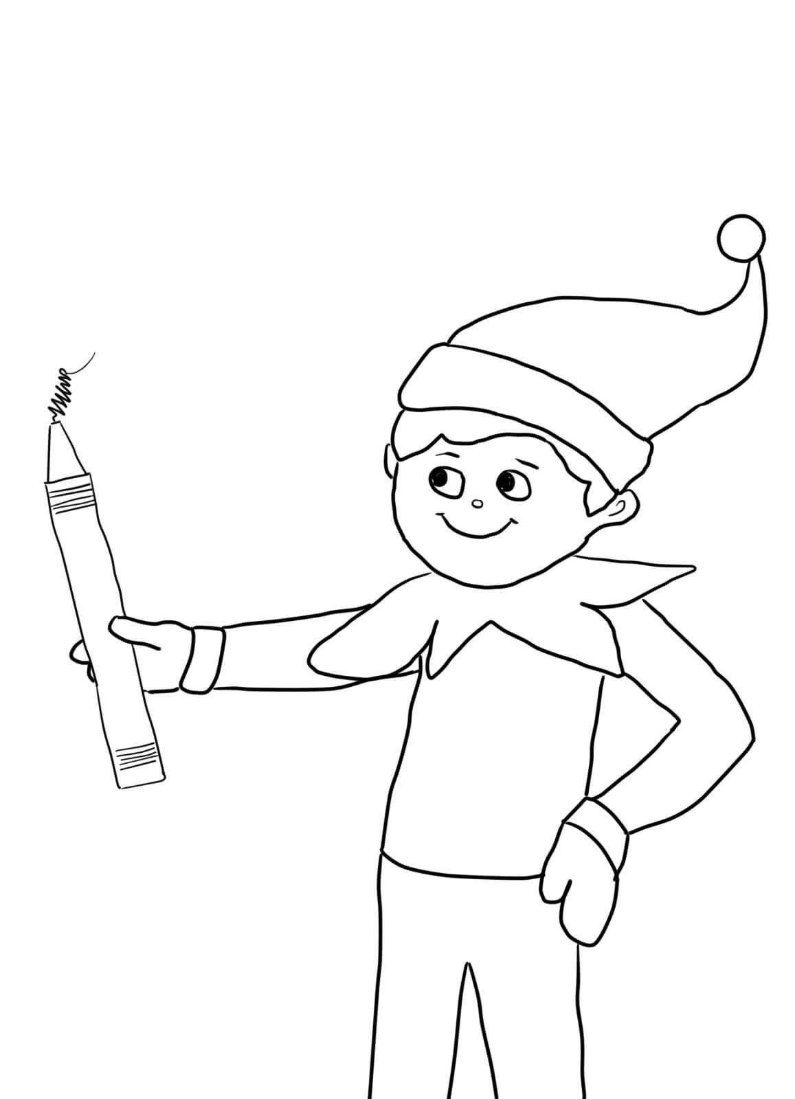 elf on the shelf pictures to color printable strange elf on the shelf color pages coloring on the color elf shelf pictures to