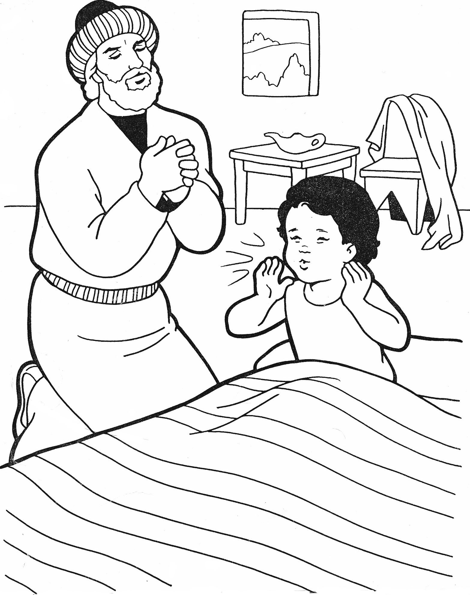 elisha and the widow coloring page the widow of the prophet asks elisha for help coloring and coloring page widow elisha the
