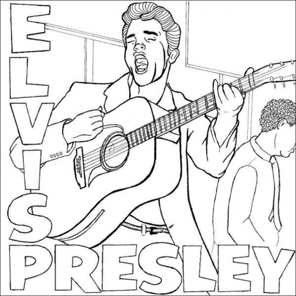 elvis presley coloring pages elvis colouring page wedding may 1 1967 coloring pages coloring presley elvis